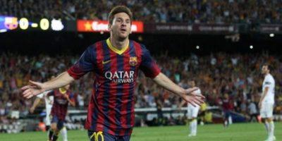 """FOTOS. Barcelona golea al Santos en el debut del """"Tata"""" Martino y Neymar"""