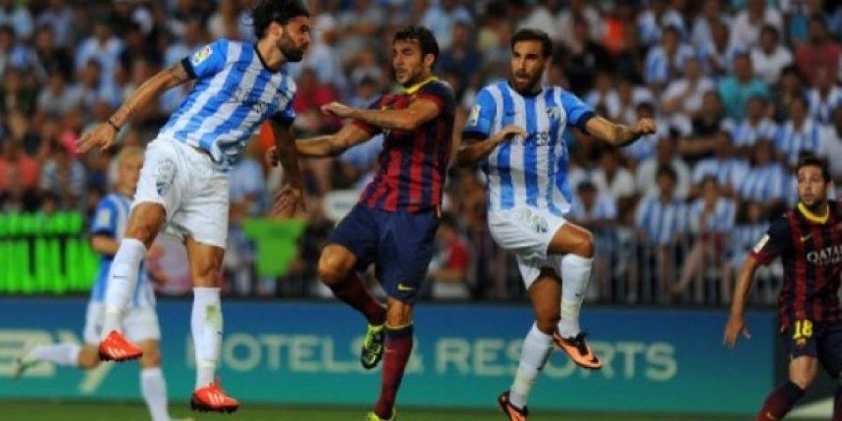 FOTOS. Barcelona vence con la mínima al Málaga