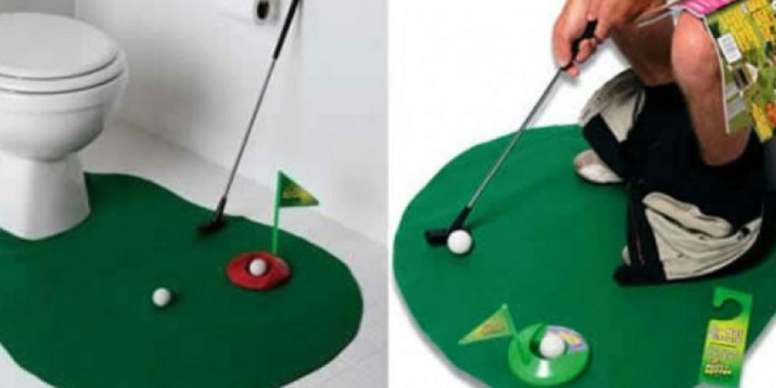 Minigolf para el baño