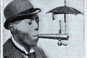 Paraguas para cigarrillos