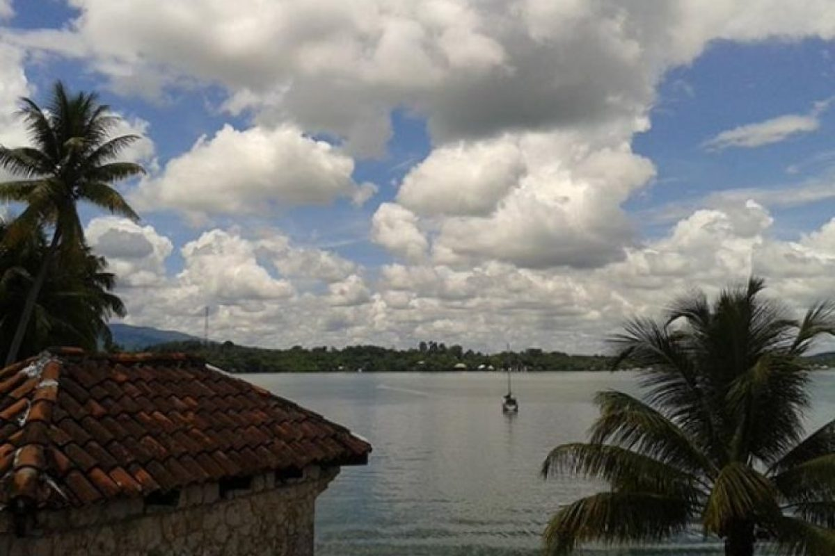 Visita a castillo de San Felipe, Izabal. Byron chis