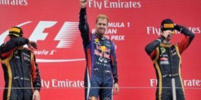 Vettel acaricia cuarta corona consecutiva