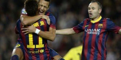 Barça consolida su liderato con gol de Alexis