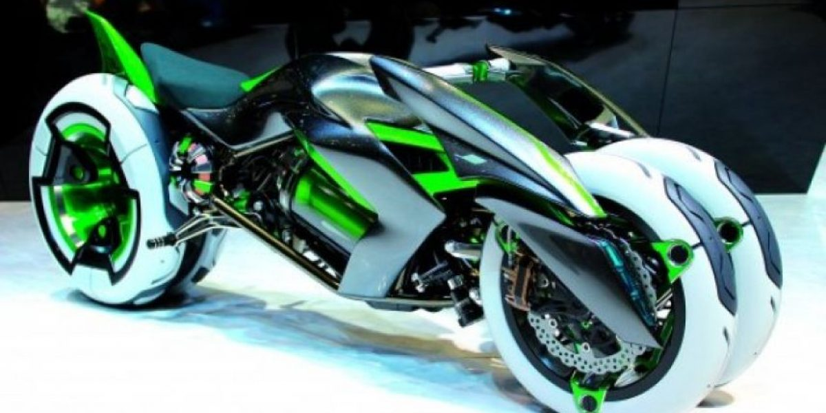 Motocicleta de tres ruedas deslumba en el Salón de Tokio