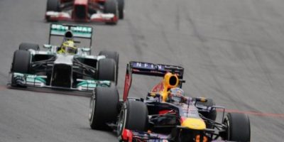Vettel gana su novena carrera consecutiva al terminar primero el GP de Brasil
