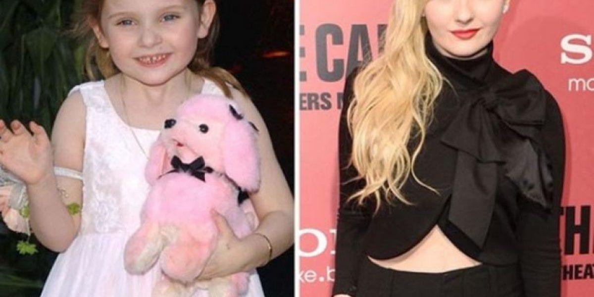 FOTOS. Ellas, antes y después
