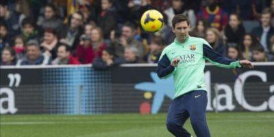 Regreso de Messi congrega a 13 mil 200 aficionados
