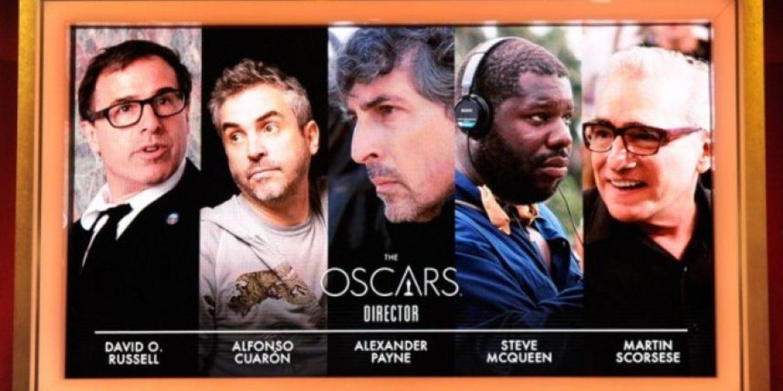 Mejor director. Foto:AFP