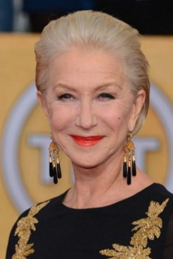 Mejor actriz en película televisiva o miniserie: Helen Mirren,