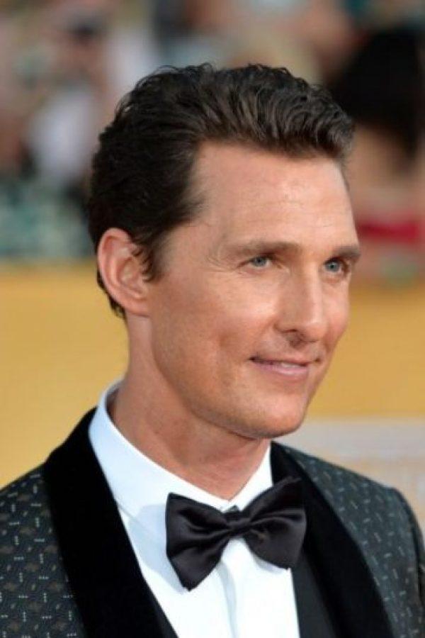 Mejor actor: Matthew McConaughey,