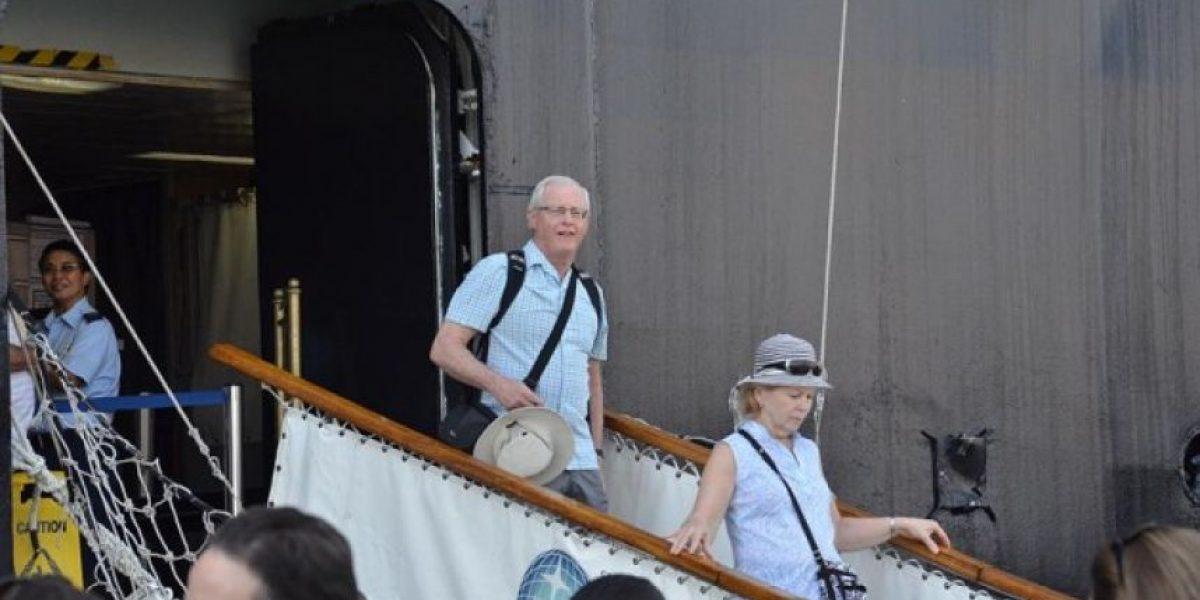 FOTOS: Cruceristas visitan Guatemala