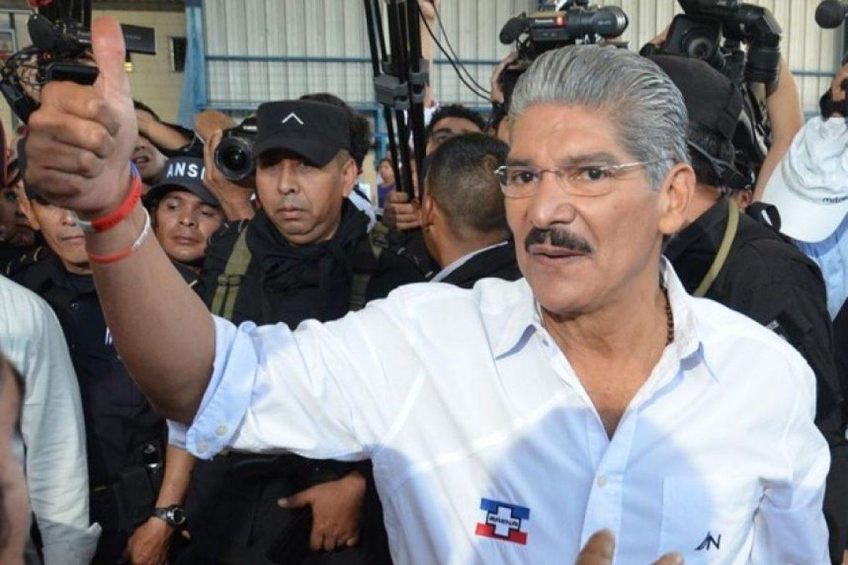 Norman Quijano, candidato presidencial de Arena. Foto:Juan José López