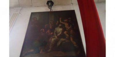 Roban pinturas de Tomás de Merlo en la Antigua Guatemala