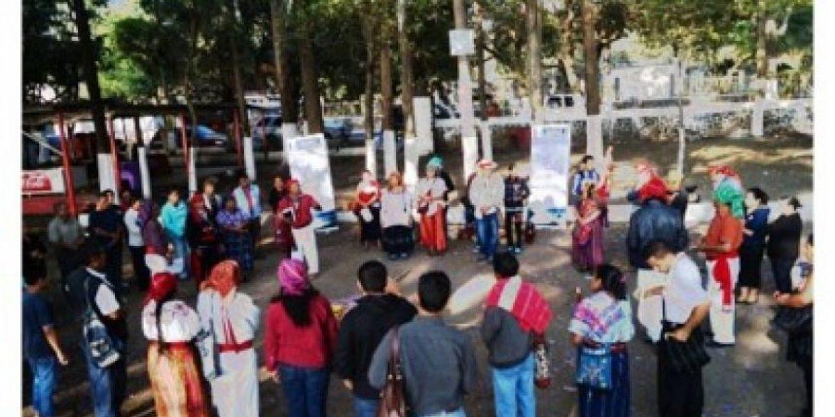 Celebran ceremonia maya para sanación de Amatitlán