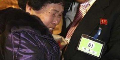 Primer contacto entre las familias coreanas separadas