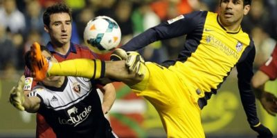 El Osasuna le pasó encima al Atlético