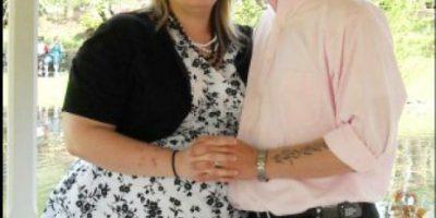 Mujer bajó 70 kilos mientas su esposo estaba en la guerra