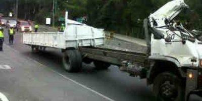 Muerte de hombre atasca ruta a El Salvador