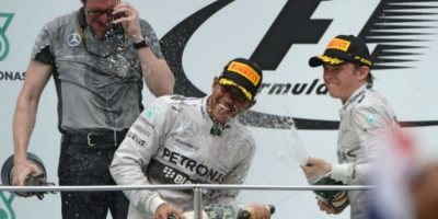 Un día de fiesta para Lewis