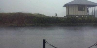 FOTOS. Lluvia causa inundaciones en ruta a El Salvador
