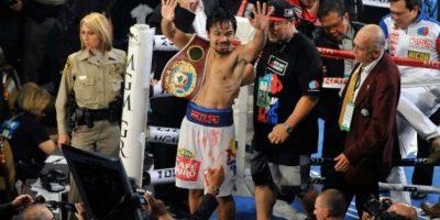 Pacquiao recupera el título mundial