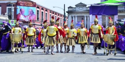 FOTOS. Guatemaltecos celebran el Domingo de Ramos