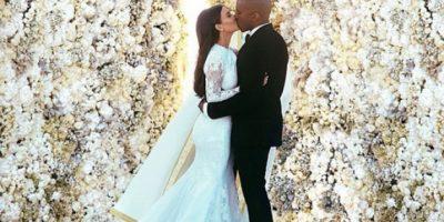 FOTOS. Las imágenes oficiales de la boda de Kim y Kanye