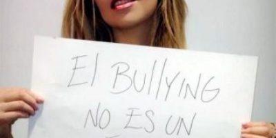 FOTOS. Famosos se unen para pedir un alto al bullying