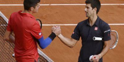 FOTOS. Djokovic-Gulbis, el primer duelo de semifinales