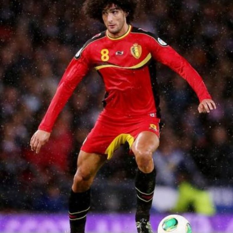 Marouane Fellaini Foto: Sitio Web
