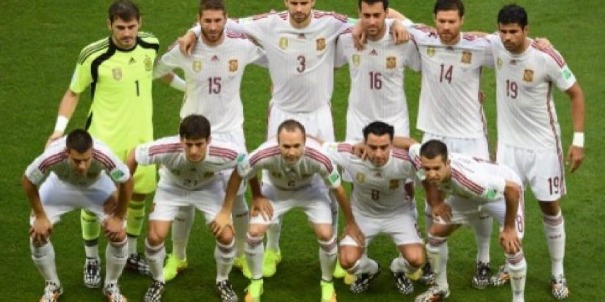 FOTOS. La campeona España debuta en el #Mundial2014