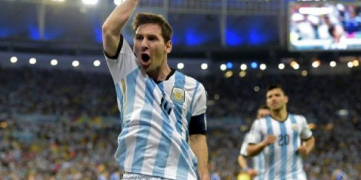 FOTOS. La celebración de Lionel Messi por el gol