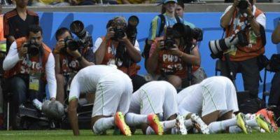 Locura belga por el 2-1 a Argelia