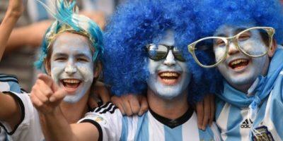 FOTOS. Los aficionados argentinos mostraron su creatividad