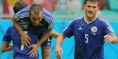 FOTOS. Bosnia gana 3-1 a Irán en la despedida de ambos del Mundial 2014