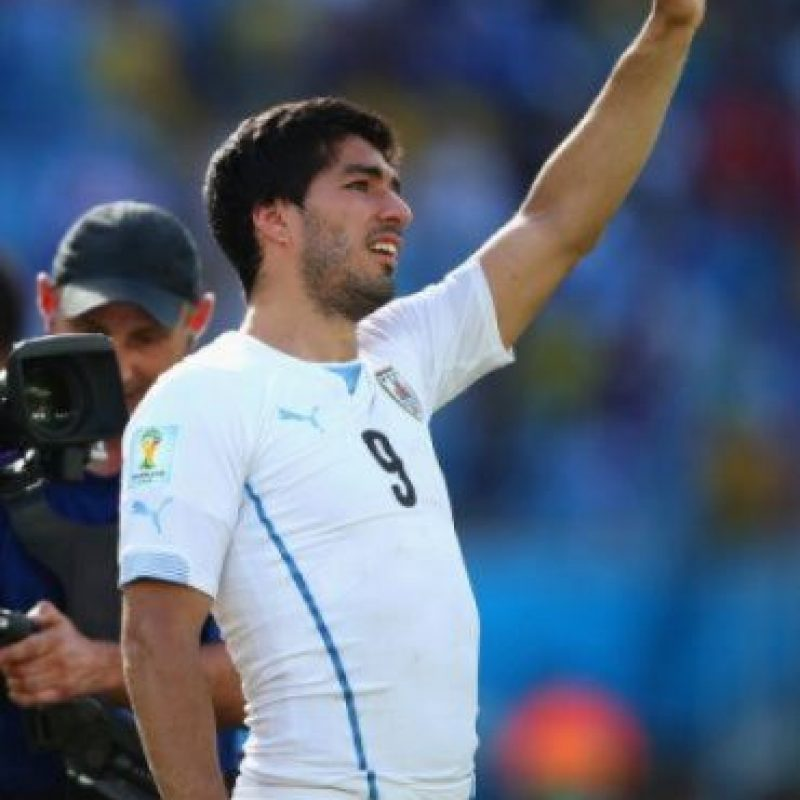 Luis Suárez. Getty