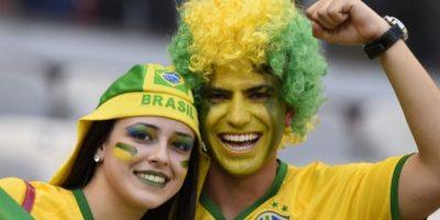 FOTOS. El color de Brasil vs. Chile