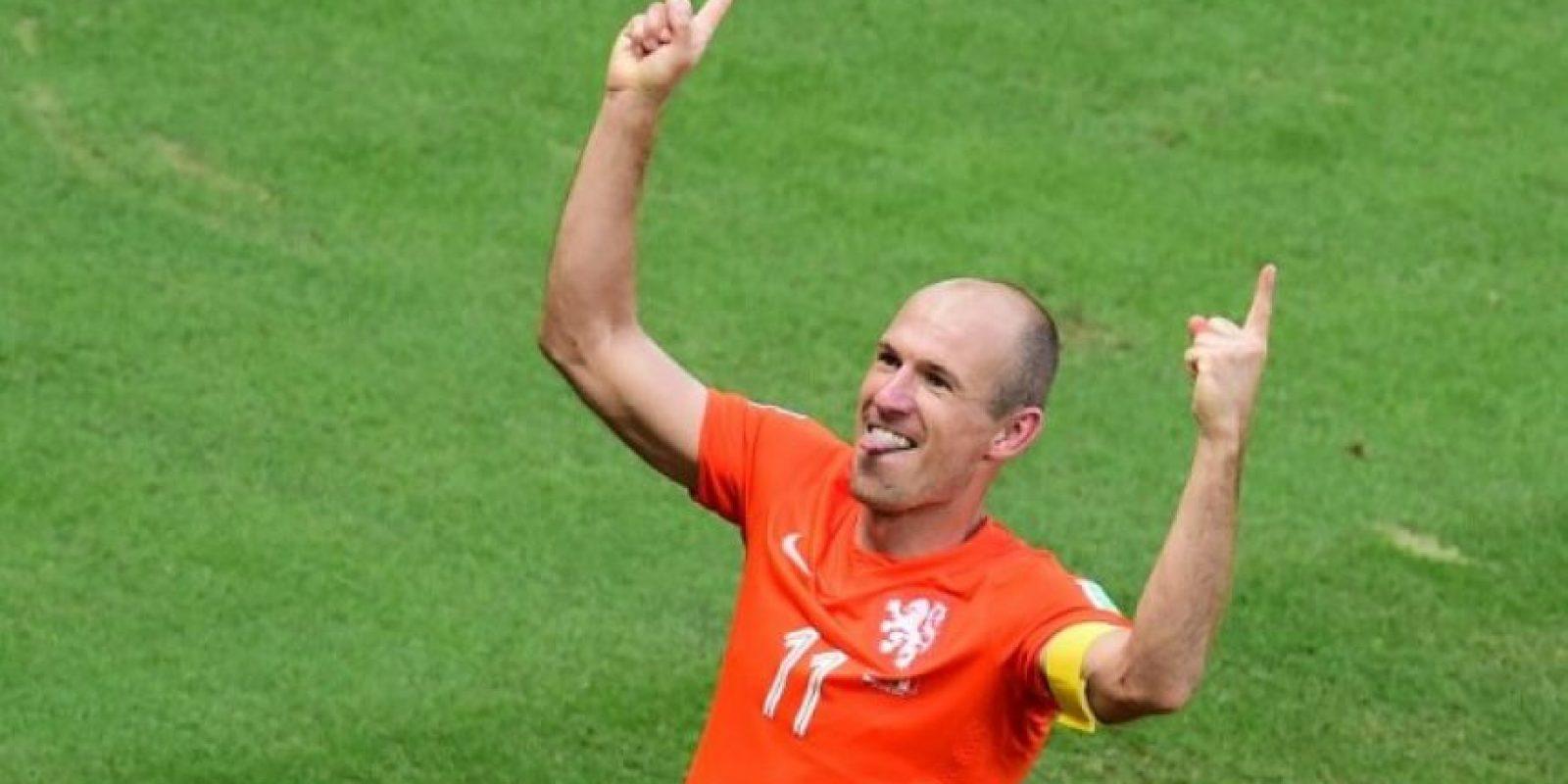 Arjen Robben (Holanda). Foto:AFP