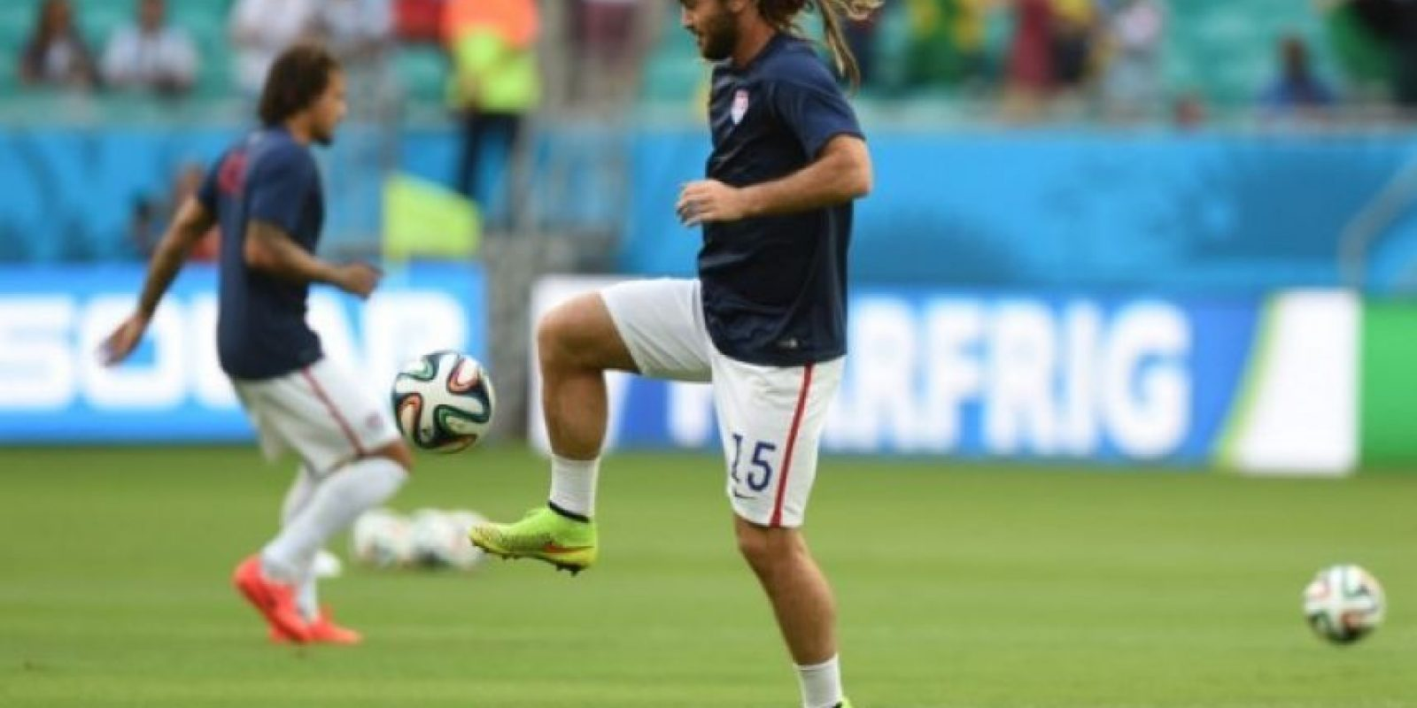 Kyle Beckerman (Estados Unidos). Foto: AFP