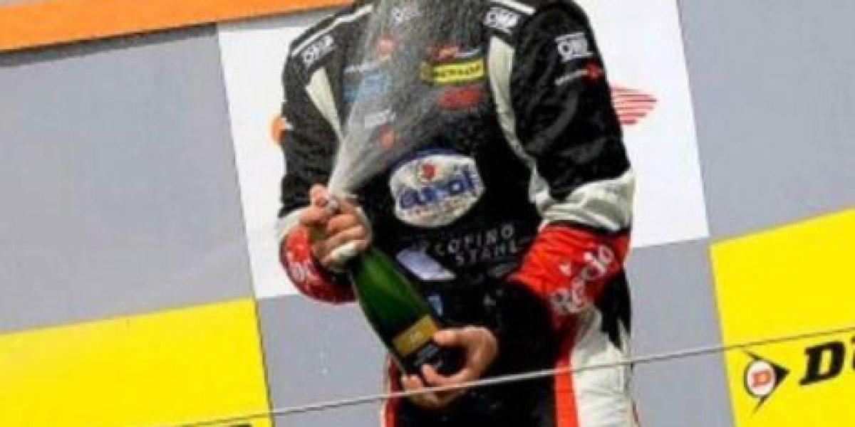 El guatemalteco Andrés Saravia gana tercer lugar en GP en Hungría