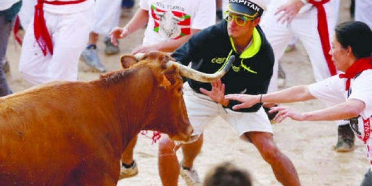 FOTOS. Adrenalina en la carrera de San Fermín