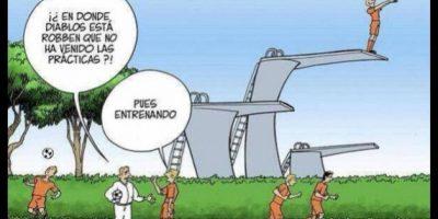 FOTOS. Creatividad en los memes de Argentina y Holanda