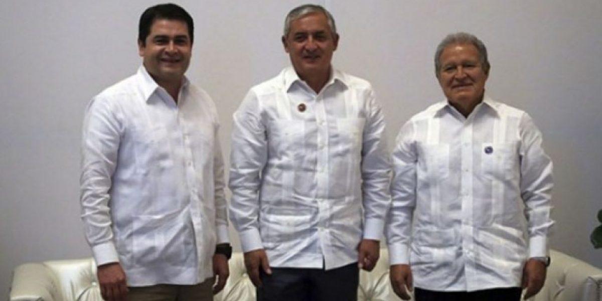 FOTOS. Presidentes de Guatemala, El Salvador y Honduras en Washington DC