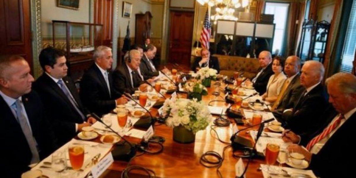 FOTOS. Presidentes de Guatemala, El Salvador y Honduras se reúnen con Joe Biden