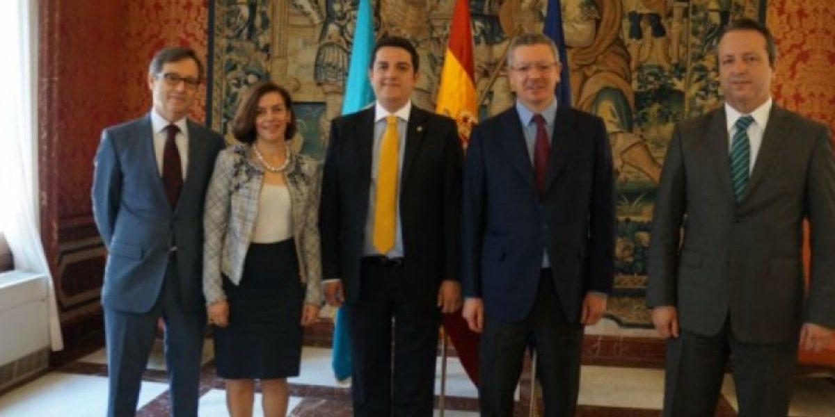 España desea apoyar a Guatemala en su política criminal