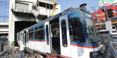 Tren se descarrila en Filipinas