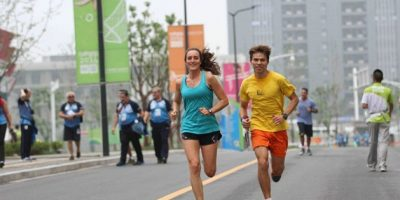 FOTOS. Atletas chapines conviven en Nanjing