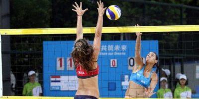 FOTOS.  Voleibol chapín se impone al ghanés