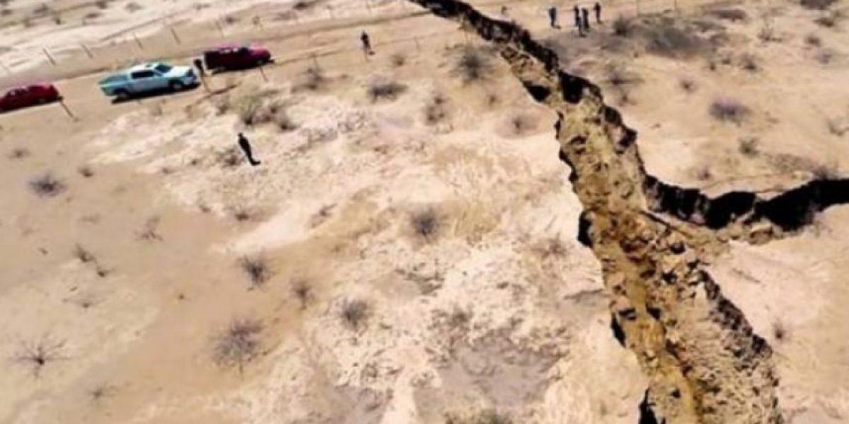 VIDEO. Enorme grieta en México
