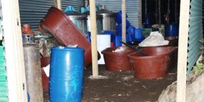 Agentes de la PNC desmantelan narcolaboratorio en Chimaltenango